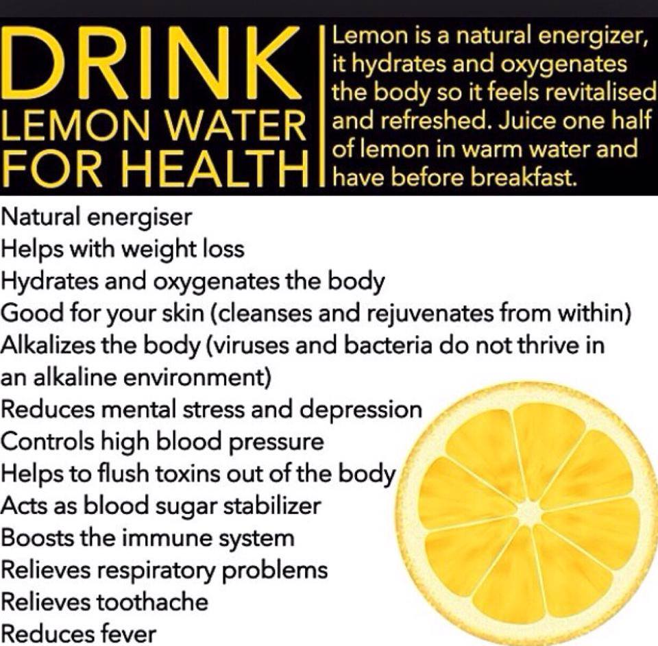 Drinking Lemon Everyday Benefits