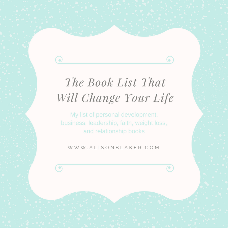 The Book List That Will Change Your Life